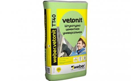 weber.vetonit TT40, 25 кг