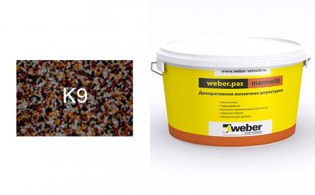 weber.pas marmolit k9, 25 кг