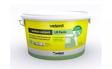 weber.vetonit LR Pasta, белая, 20 кг/ведро