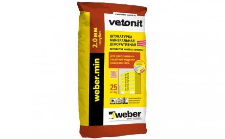 weber.min winter ПО 2 мм, 25 кг