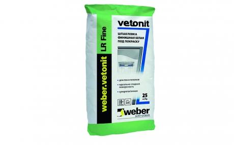 weber.vetonit LR Fine, 25 кг
