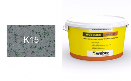 weber.pas marmolit k15, 25 кг