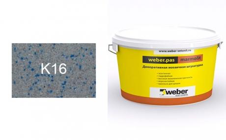 weber.pas marmolit k16, 25 кг