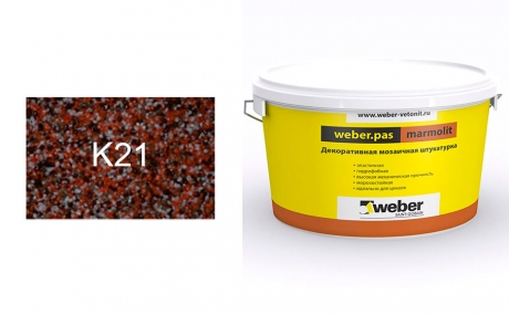 weber.pas marmolit k21, 25 кг