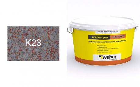 weber.pas marmolit k23, 25 кг