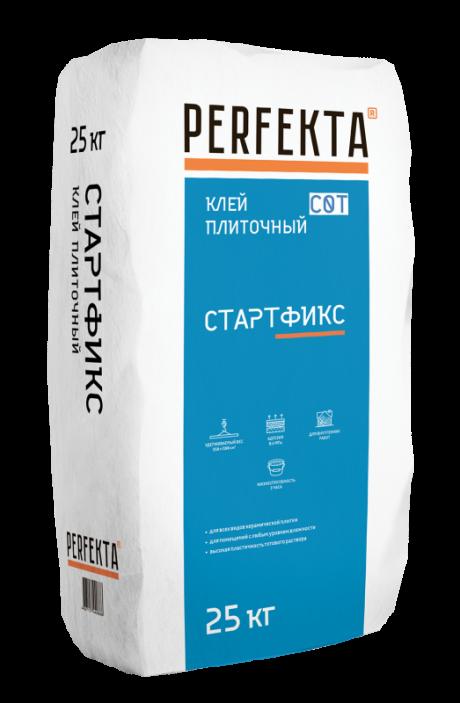 Клей плиточный без вертикального сползания Стартфикс C0 T, 25 кг