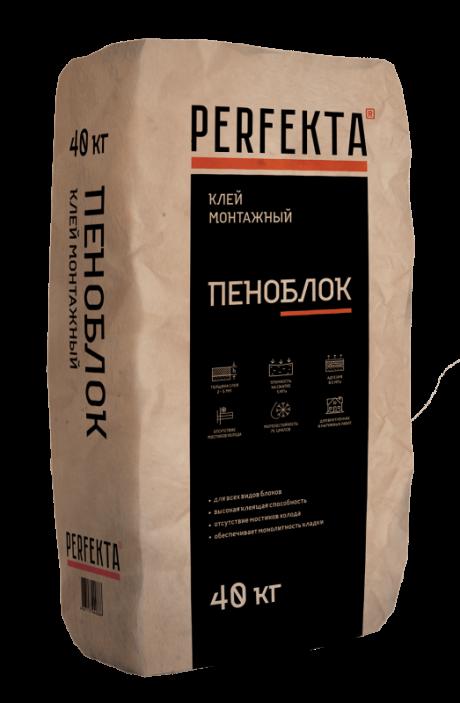 Клей монтажный Пеноблок, 40 кг