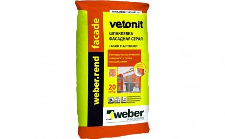 weber.rend facade grey, 20 кг