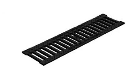 Решетка водоприемная Gidrolica Standart РВ-10.13,6.50 кл. С250 чугунная, 500*136*13 мм
