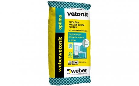 weber.vetonit optima, серый, 25 кг