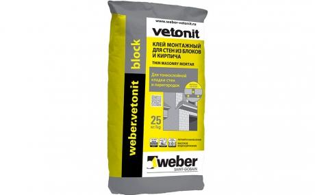 weber.vetonit block 25 кг