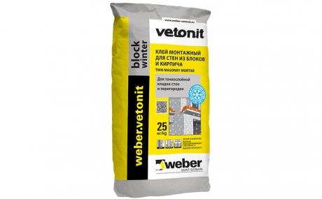 weber.vetonit block winter 25 кг
