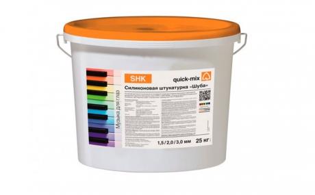 quick-mix SHK Шуба 2 мм белая, 25 кг