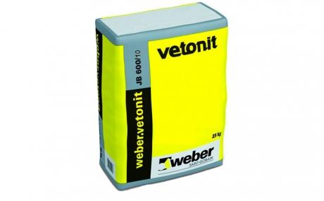 weber.vetonit JB 600/10 серый, 25 кг