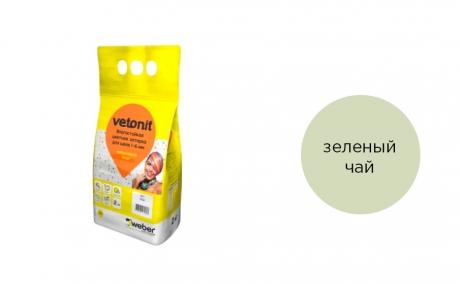 weber.vetonit decor зеленый чай, 2 кг