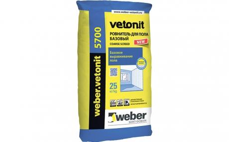 weber.vetonit 5700, серый, 25 кг