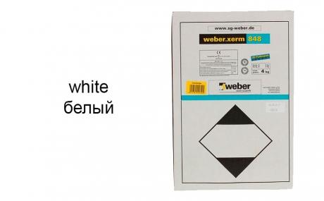 weber.xerm 848 white, 4 кг