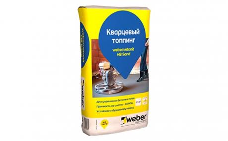 weber.vetonit HB Sand, серый, 25 кг
