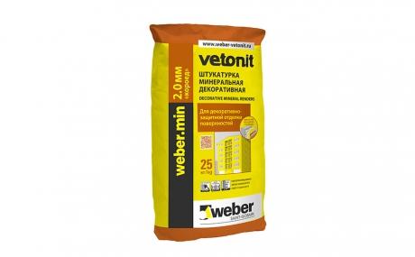 "weber.min ""короед"" 2,0 мм ПО, 25 кг"