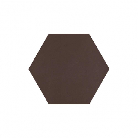 Paradyz Natural Brown (Plain) Heksagon плитка напольная 26×26