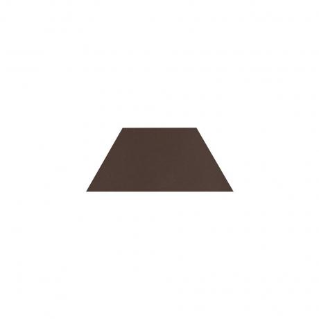 Paradyz Natural Brown (Plain) Trapez декор напольный 12,6×29,6