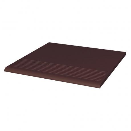 Paradyz Natural Brown (Plain) ступень прямая гладкая 30×30
