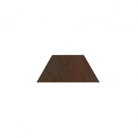 Paradyz Semir Brown Trapez декор напольный 12,6×29,6