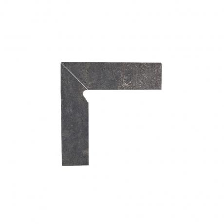 Paradyz Viano Antracite плинтус 2-х элем левый 8,1×30