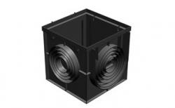 Дождеприемник Gidrolica Point ДП-40.40 пластиковый, 400*400*400 мм
