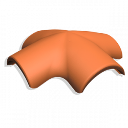 Х-образная черепица Kriastak