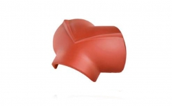 Керамическая черепица конечная вальмовая №2/3 Koramic Biber Natural Red