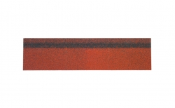 Коньково-карнизная черепица SHINGLAS, красный