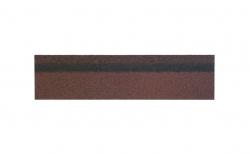 Коньково-карнизная черепица SHINGLAS, коричневый
