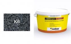 weber.pas marmolit k6 25 кг