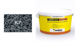 weber.pas marmolit k7, 25 кг