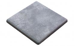 Клинкерная угловая ступень-флорентинер Gres Aragon Mytho Acero, 330*330*18(53) мм