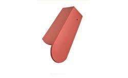 Керамическая черепица 3/4 боковая левая Koramic Biber Natural Red