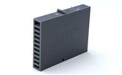 Вентиляционно-осушающая коробочка BAUT темно-серая, 80*60*10 мм