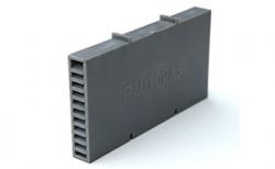 Вентиляционно-осушающая коробочка BAUT темно-серая, 115*60*10 мм