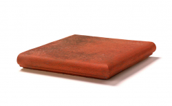 Клинкерная угловая ступень-флорентинер Gres Aragon Antic Cuero, 330*330*18(53) мм