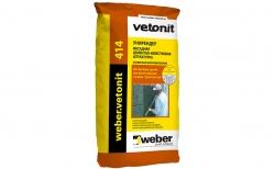 weber.vetonit Unirender 414, 25 кг