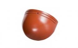 Керамическая черепица начальная хребтовая Koramic №11 Natural Red