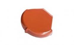 Коньковая заглушка конечная Koramic №11 Red Engobe