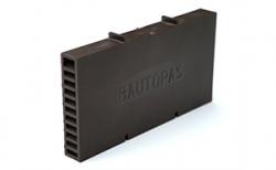 Вентиляционно-осушающая коробочка BAUT коричневая, 115*60*10 мм