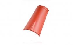 Керамическая черепица коньковая №2 Koramic Biber Natural Red