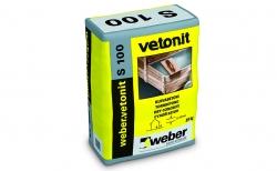 weber.vetonit С100 (S 100) серый, 25 кг
