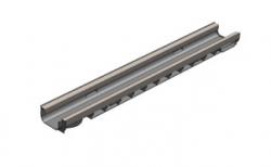 Лоток водоотводный Gidrolica Standart Plus DN100 ЛВ-10.14,5.06 кл. С250, 1000*148*63 мм