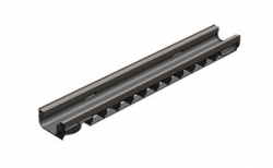 Лоток водоотводный Gidrolica Standart Plus DN100 ЛВ-10.14,5.08 кл. С250, 1000*148*83 мм