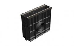 Пескоуловитель Gidrolica Standart Plus DN100 ПУ-10.16.42 кл. С250, 500*160*423 мм