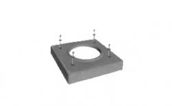 Лёгкая покровная плита SCHIEDEL UNI под обмуровку одноходовая без вентиляции, D 14-16 см